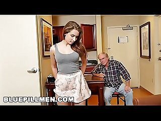 BLUE PILL MEN - Old Man Duke Gets His Dick Wet With Young Escort Naomi Alice